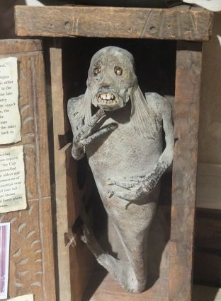Feejee Mermaid at Museum of the Weird